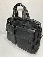 """Деловая сумка-портфель под документы""""Cantlor"""".Высота 28 см, ширина 40 см, глубина 6 см., фото 1"""