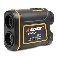 Лазерный дальномер для спорта, туризма, рыбалки - SNDWAY SW-600A (600 метров), фото 3