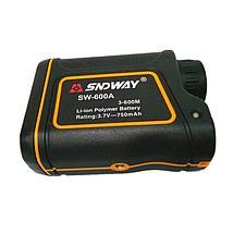 Лазерный дальномер для спорта, туризма, рыбалки - SNDWAY SW-600A (600 метров), фото 2