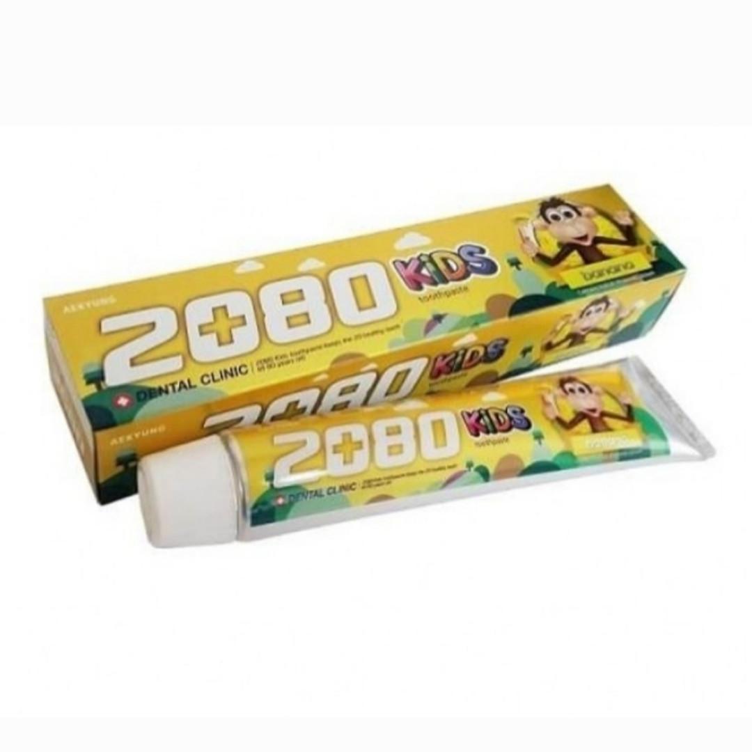 """Детская зубная паста """"Банан"""" Dental Clinic 2080 80 g"""