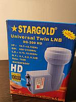 Головка спутниковая Stargold SG-200 HD KY 2 выхода