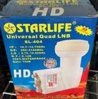 Головка спутниковая Starlife на 4 выхода