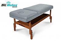 Массажный стол стационарный Comfort SLR-9 (серый)