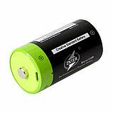 Аккумулятор D 1,5V 4000 mA с зарядкой от USB, фото 4