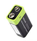 Аккумулятор Крона 9V 400 mA с зарядкой от USB, фото 4