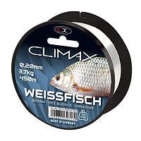Леска монофильная Climax Species Whitefish (8241-00450-020=transparent 450m 0,20mm)