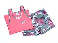 Batik Комплект (майка + шорты) для девочек (02002_BAT)