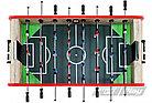 Настольный футбол кикер Champion Start Line Play 5 футов SLP-5529K1, фото 4