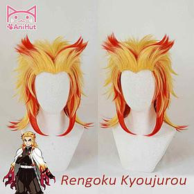 Парик Ренгоку - Клинок рассекающий демонов (неуложенный)