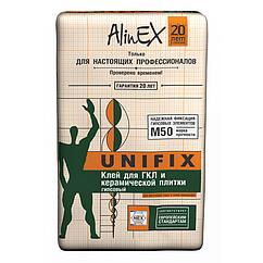 Клей для ГКЛ AlinEX «UNIFIX», 25 кг купить в Казахстане