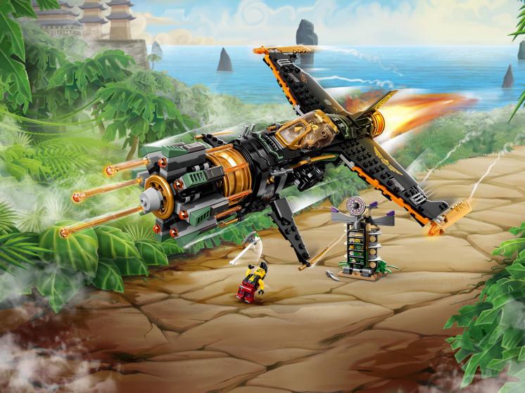 LEGO NINJAGO 71736 Скорострельный истребитель Коула, конструктор ЛЕГО - фото 1