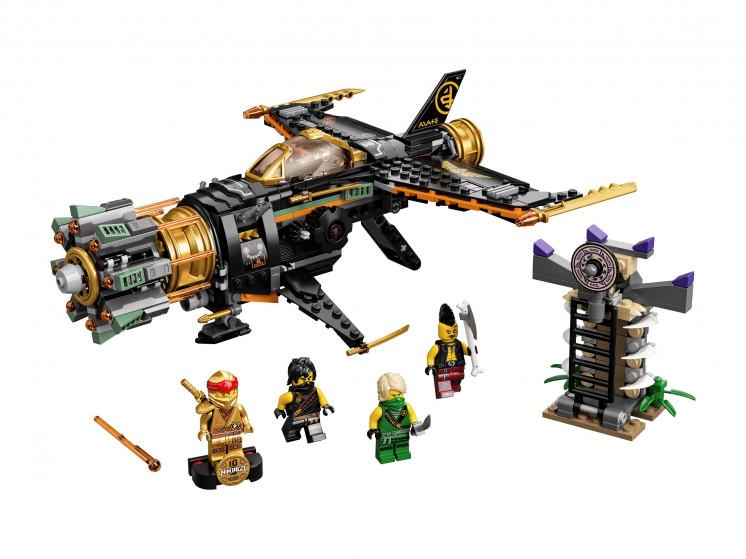LEGO NINJAGO 71736 Скорострельный истребитель Коула, конструктор ЛЕГО - фото 3