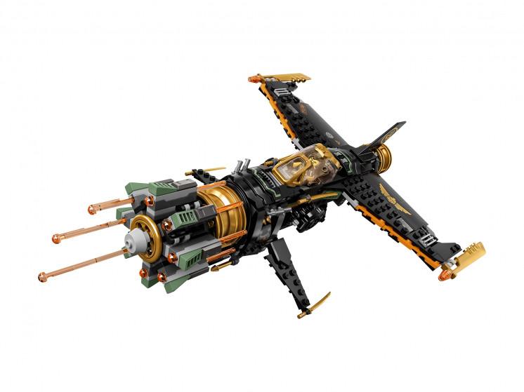 LEGO NINJAGO 71736 Скорострельный истребитель Коула, конструктор ЛЕГО - фото 5