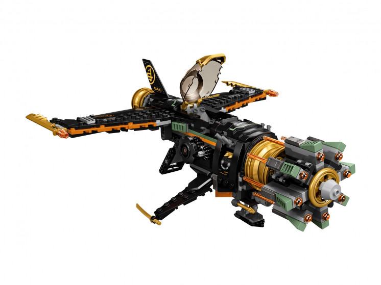 LEGO NINJAGO 71736 Скорострельный истребитель Коула, конструктор ЛЕГО - фото 6