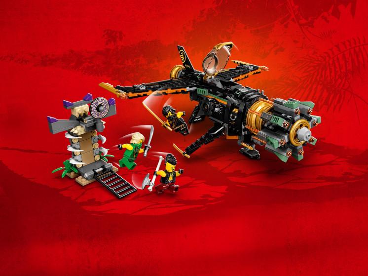 LEGO NINJAGO 71736 Скорострельный истребитель Коула, конструктор ЛЕГО - фото 10