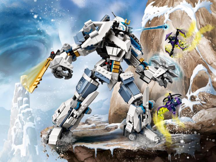 LEGO NINJAGO 71738 Битва с роботом Зейна, конструктор ЛЕГО - фото 1