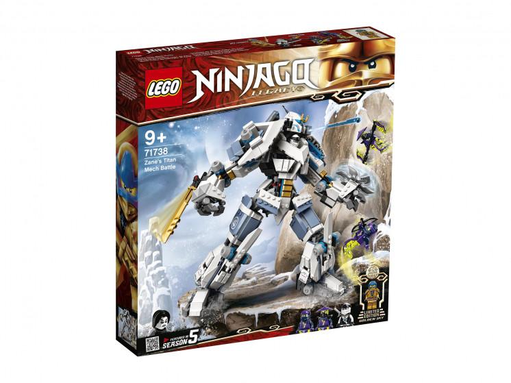 LEGO NINJAGO 71738 Битва с роботом Зейна, конструктор ЛЕГО - фото 2