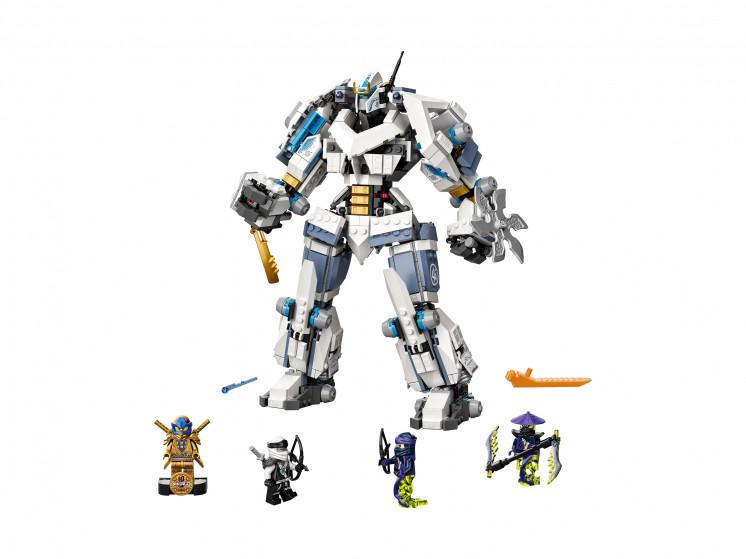 LEGO NINJAGO 71738 Битва с роботом Зейна, конструктор ЛЕГО - фото 3