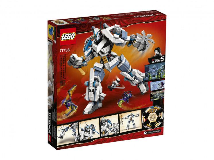LEGO NINJAGO 71738 Битва с роботом Зейна, конструктор ЛЕГО - фото 4