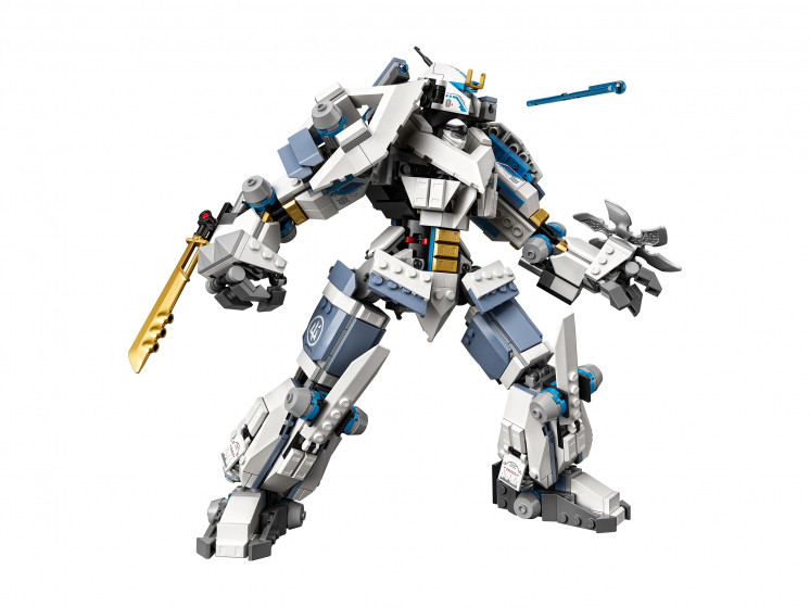 LEGO NINJAGO 71738 Битва с роботом Зейна, конструктор ЛЕГО - фото 5