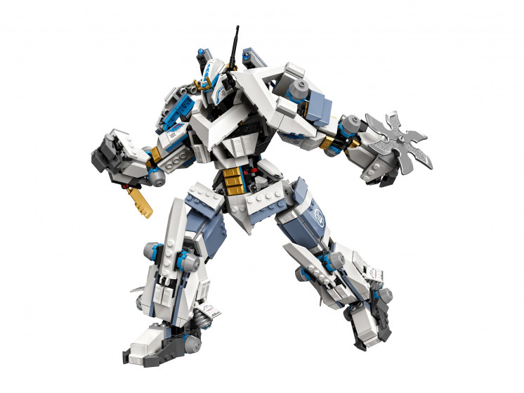 LEGO NINJAGO 71738 Битва с роботом Зейна, конструктор ЛЕГО - фото 6