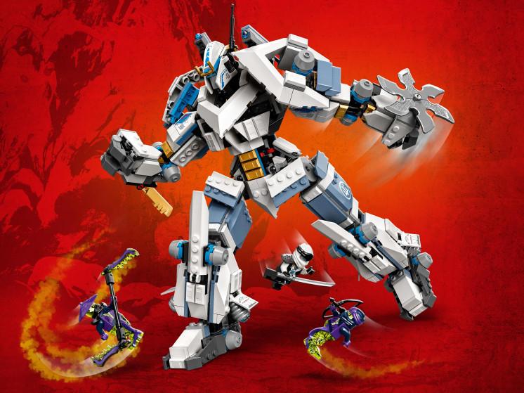 LEGO NINJAGO 71738 Битва с роботом Зейна, конструктор ЛЕГО - фото 10