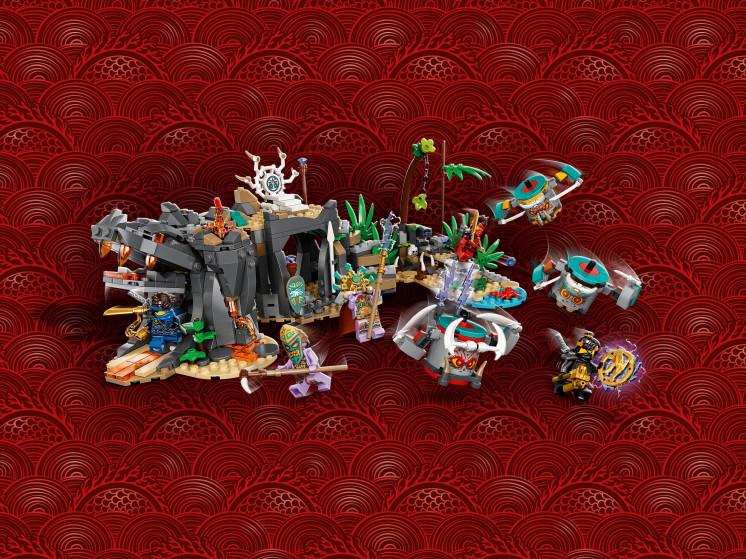 LEGO NINJAGO 71747 Деревня Хранителей, конструктор ЛЕГО - фото 10