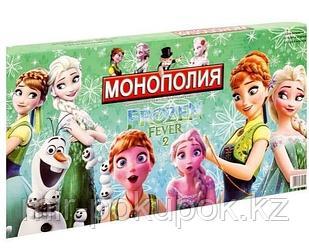 Настольная игра Монополия Холодное сердце 2 для девочек