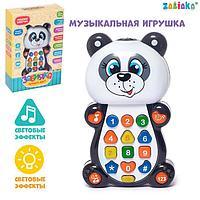 Музыкальная игрушка Панда с пректором