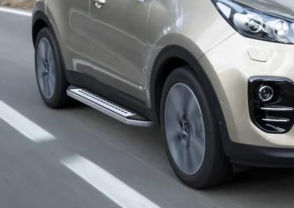 """Пороги """"Bmw-Style"""" Hyundai  Tucson  (2015-), Kia Sportage (2016-)"""