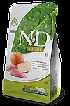 N&D кабан, яблоко, уп.5кг.