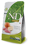 N&D кабан, яблоко, уп.10кг.