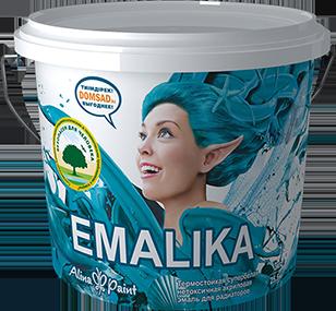Акриловая эмаль на водной основе Emalika 3 кг  купить в Павлодаре