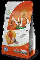 N&D сельдь, тыква, апельсин, уп.5кг.