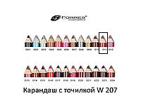 Карандаш с точилкой W207 №011 wine