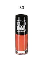 MAYBELLINE Лак д\ногтей Colorama 30 коралловые бусы