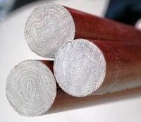 Текстолит стержень 60 мм (L~ 550 мм, ~2,1 кг)