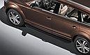 """Пороги """"Premium-Black"""" Audi Q7 (2009-2015), Volkswagen  Touareg (2010-2018), фото 3"""