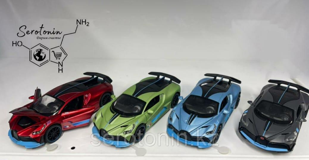 Коллекционные машинки Bugatti Divo