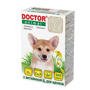 Doctor Animal Витамины для щенков