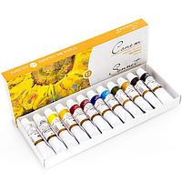 Художественные масляные краски Сонет 12 цветов