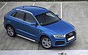 """Пороги """"Bmw-Style""""  Audi Q3 (2011-2018), фото 2"""