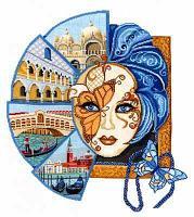 """Набор для вышивания крестом """"Венецианская маска"""""""
