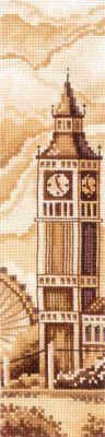 """Набор для вышивания крестом """"Закладки. Лондон"""""""