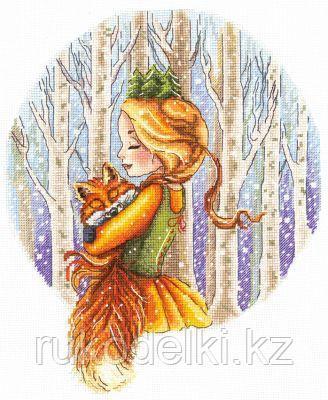 """Набор для вышивания крестом """"Лесная принцесса"""""""