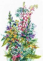 """Набор для вышивания крестом """"Полевые цветы"""""""