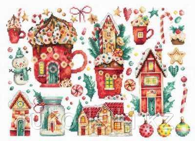 """Набор для вышивания крестом """"Рождественские сладости"""""""