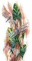 """Набор для вышивания крестом """"Танцующие стрекозы"""""""