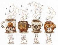 """Набор для вышивания крестом """"Хранители кофе"""""""