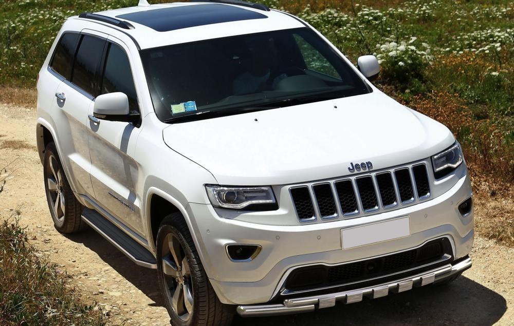 """Пороги """"Premium"""" Jeep Grand Cherokee (2011-2020)"""